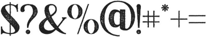 Black Drama Serif Rough otf (900) Font OTHER CHARS