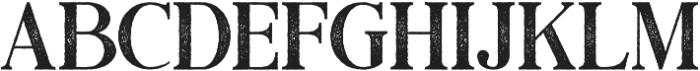 Black Drama Serif Rough otf (900) Font LOWERCASE