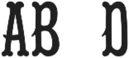 Black Eye Specialist ttf (900) Font LOWERCASE