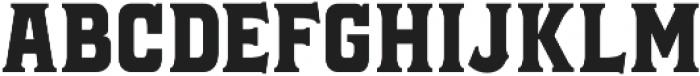 Black Jack Serif otf (900) Font UPPERCASE