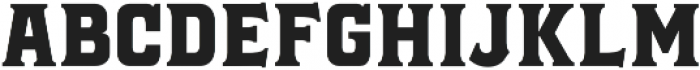 Black Jack Serif otf (900) Font LOWERCASE