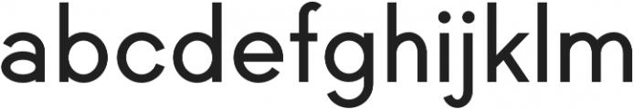 Black Label SemiBold otf (600) Font LOWERCASE