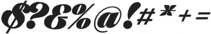 Black Larch otf (900) Font OTHER CHARS