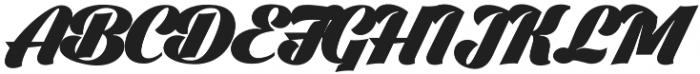 Black Larch otf (900) Font UPPERCASE