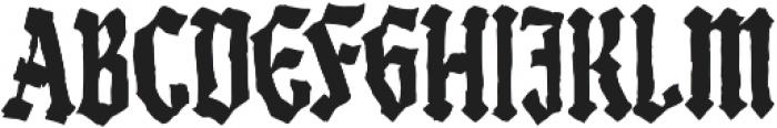 Black Madness otf (900) Font UPPERCASE