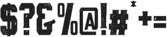 Black Mask otf (900) Font OTHER CHARS