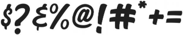 Black Mindo otf (900) Font OTHER CHARS
