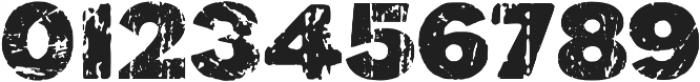 Black Monday otf (900) Font OTHER CHARS