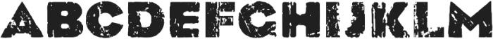 Black Monday otf (900) Font LOWERCASE