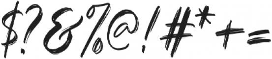 Black Mountage Alt otf (900) Font OTHER CHARS