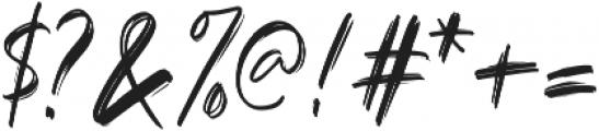 Black Mountage Regular otf (900) Font OTHER CHARS