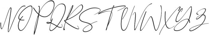 Black Pink Signature otf (900) Font UPPERCASE