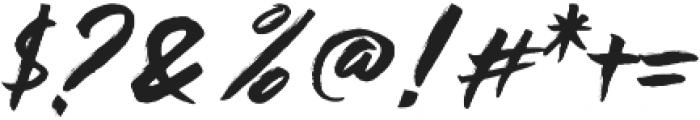 Black Rose otf (900) Font OTHER CHARS