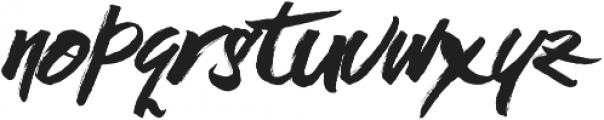 Black Rose otf (900) Font LOWERCASE