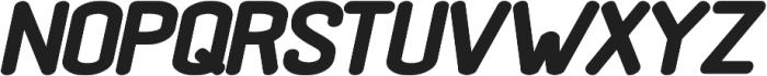 Black Rovers Bold Italic otf (700) Font UPPERCASE