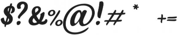 Black Script Caps otf (900) Font OTHER CHARS