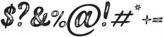 Black Script Printed Caps otf (900) Font OTHER CHARS