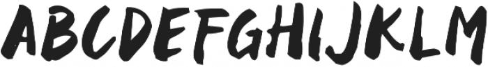 Black Space otf (900) Font UPPERCASE