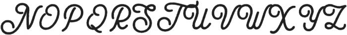 Black Star Rough Bold otf (700) Font UPPERCASE