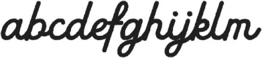 Black Star Rough Bold otf (700) Font LOWERCASE
