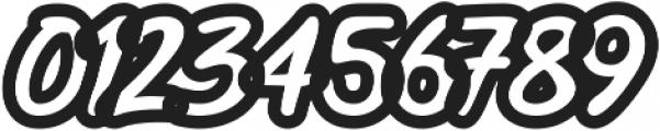Black Street Outline ttf (900) Font OTHER CHARS