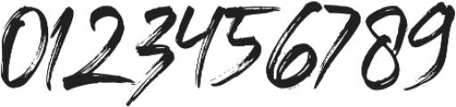 Black Vosten otf (900) Font OTHER CHARS