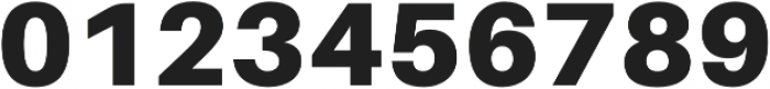 Black otf (900) Font OTHER CHARS