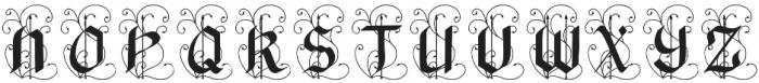 BlackArrow otf (900) Font UPPERCASE