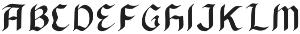 BlackArrow otf (900) Font LOWERCASE