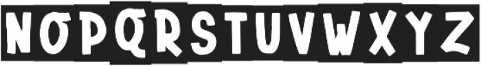 BlackBold Regular otf (700) Font LOWERCASE