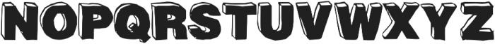 BlackDog Front otf (900) Font UPPERCASE