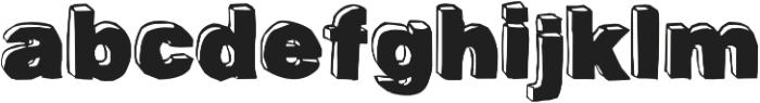 BlackDog Front otf (900) Font LOWERCASE