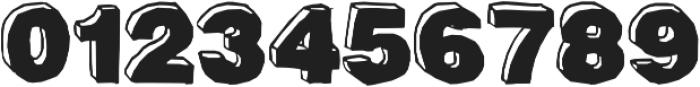 BlackDog Front ttf (900) Font OTHER CHARS