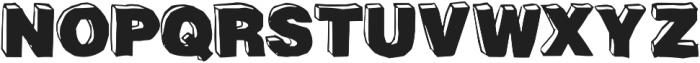 BlackDog Front ttf (900) Font UPPERCASE