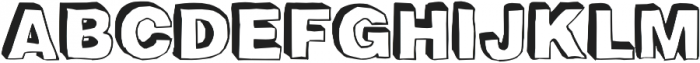 BlackDogBack otf (900) Font UPPERCASE