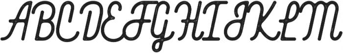 BlackWood Script Rough otf (900) Font UPPERCASE