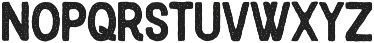 Blackcode Sans Stamp otf (900) Font UPPERCASE