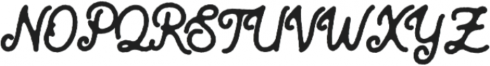 Blackcode Script Rough otf (900) Font UPPERCASE