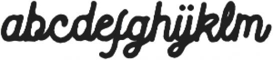 Blackcode Script Rough otf (900) Font LOWERCASE