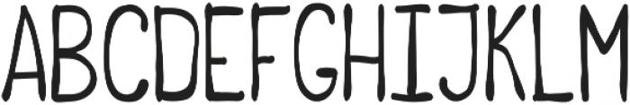 Blacked otf (900) Font LOWERCASE