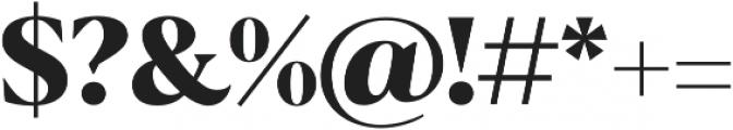 Blacker Display ExtraBold otf (700) Font OTHER CHARS