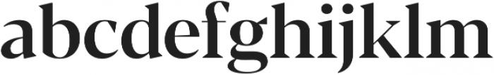 Blacker Display Medium otf (500) Font LOWERCASE