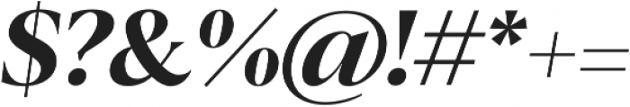 Blacker Pro Display otf (900) Font OTHER CHARS