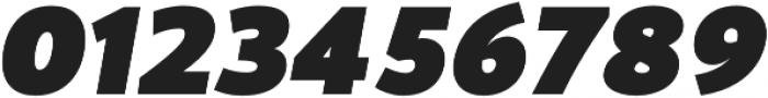 Blacker Sans Black Italic otf (900) Font OTHER CHARS