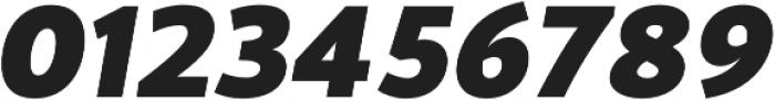 Blacker Sans Heavy Italic otf (800) Font OTHER CHARS