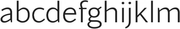 Blacker Sans Light otf (300) Font LOWERCASE