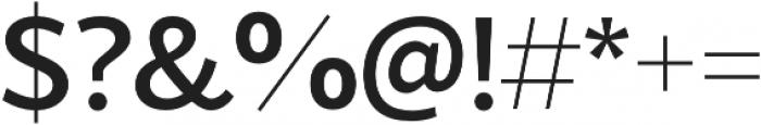 Blacker Sans Medium otf (500) Font OTHER CHARS