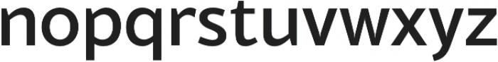 Blacker Sans Medium otf (500) Font LOWERCASE