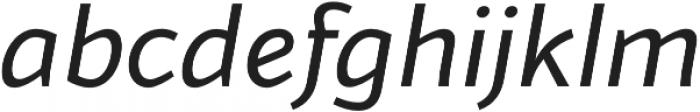 Blacker Sans otf (900) Font LOWERCASE