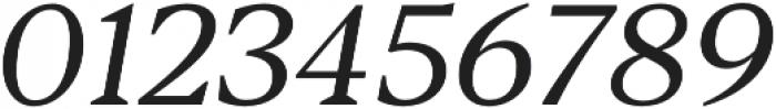 Blacker Text Book Italic otf (400) Font OTHER CHARS